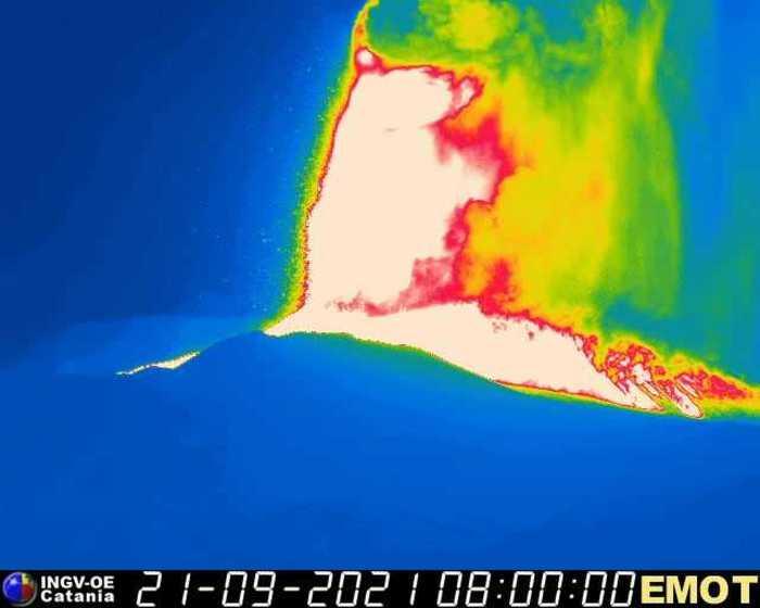 etna lava termografia
