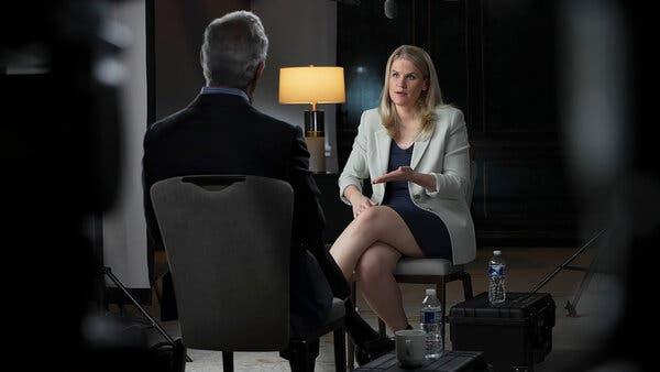 intervista a CBS su facebook